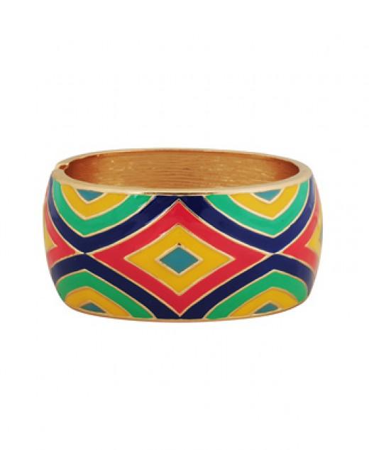 Kaleidoscope bracelet Forever 21 $8.80