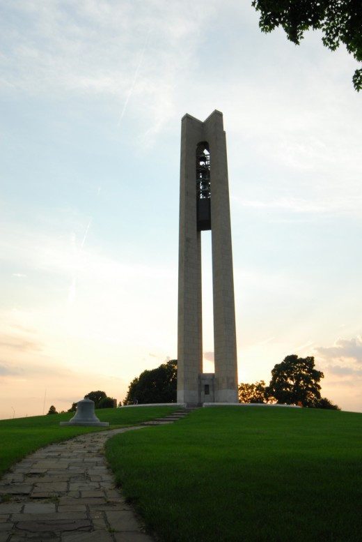 The Carillon Bells at Carillon Park in Dayton, Ohio