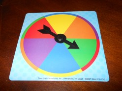 Color wheels with a spinner are great for choosing questions or students.