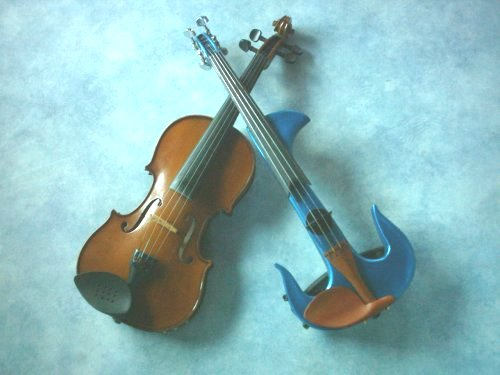 A Violin, Two Ways. Classic and Electric.