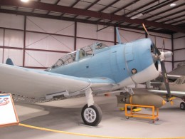 SBD-4 Dauntless dive bomber. These bombers were the main ship killing weapons of US carriers during the early years of the war in the Pacific.