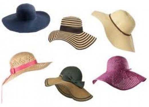 More great, stylish options in sun hats!