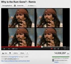 Youtube Musical Remixes from Movies