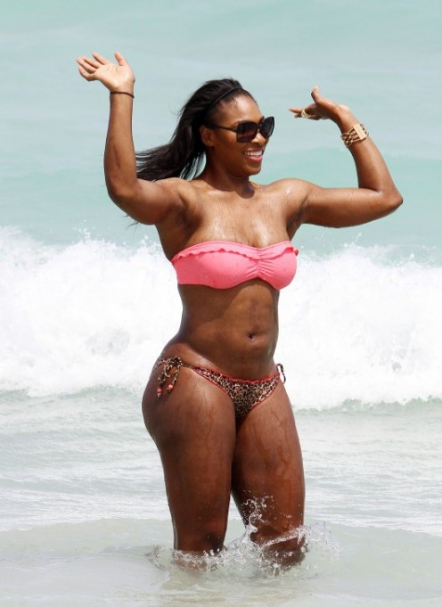 Most Favourite hot tennis player Serena Williams