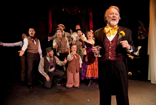 'The Mystery of Edwin Drood' showing until 17th June at the Arts Theatre, London.