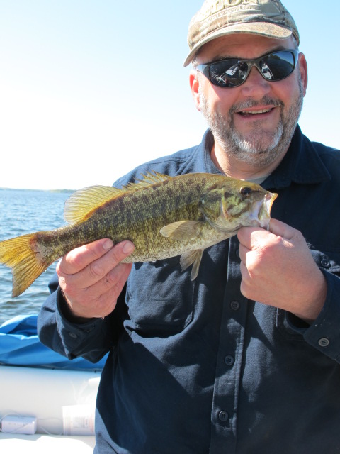 The 'Mighty' and a Smallmouth Bass