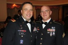 My husband and Chief Wilcox