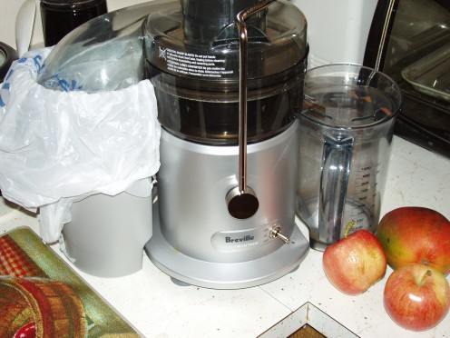Our Breville Juice Fountain Plus