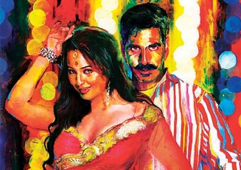 Publicity Poster of the movie Rowdy Rathore