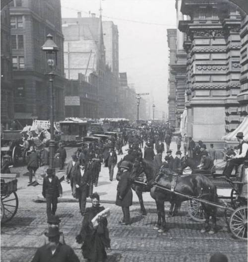Chicago in the late 1800's