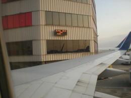 Atlanta, GA Hartsfield-Jackson Airport - sitting at the gate