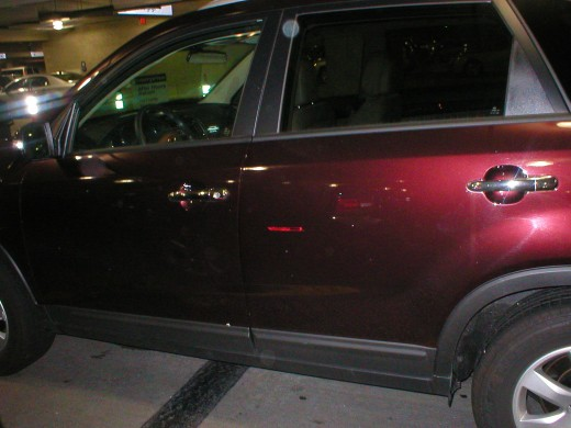 Rental Car Side View