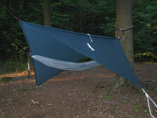 Here is one of my hammock camping rigs.
