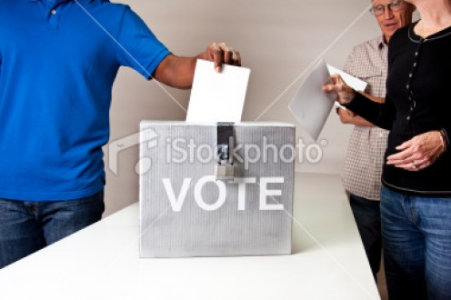 You have the right to vote however you want to.