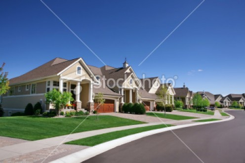 Is this more to this suburban street than meets the eye?