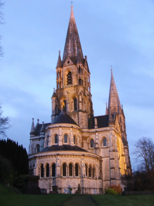 St Finbarr's Cathedral in Cork, Ireland