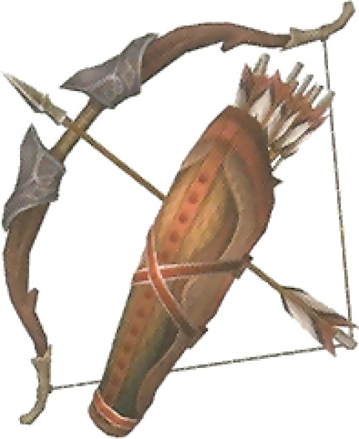 The Bow & Arrow from The Legend of Zelda: Twilight Princess