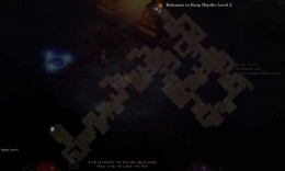 Diablo 3 Find the Keep Depths Level 2 - the entrance to level 2 for this particular scenario