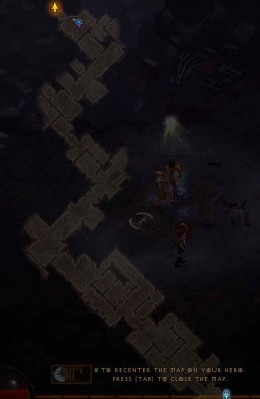 Diablo 3 Find the Breach in Bastion's Keep - map to reach the Keep Depths level 3 for this particular hero
