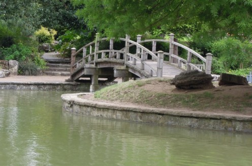 Bridge in Stoke Park