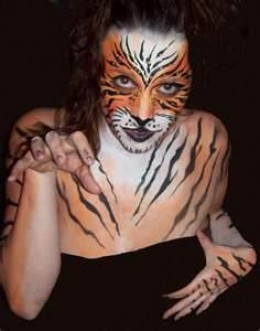 tiger makeup tutorials and tips. Black Bedroom Furniture Sets. Home Design Ideas