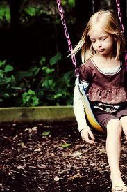 Alone in the swing