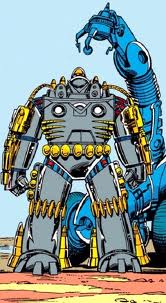 Firepower in the Marvel comic books