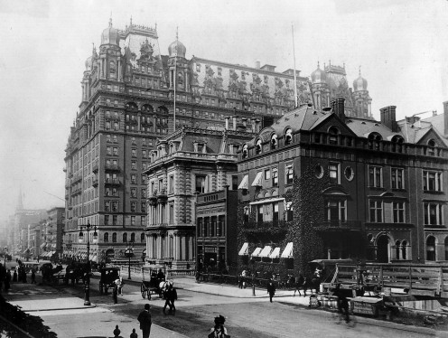 Waldorf Astoria Hotel in 1899
