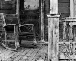 Sitting on Grandpa's Front Porch
