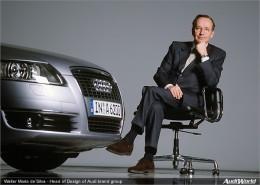 Walter De Silva Head of all VW Group Design operations