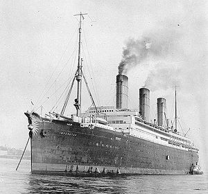 SS Imperator, World's Largest Liner, 1913