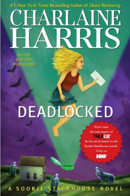 Cover photo of Deadlocked, by Charlaine Harris