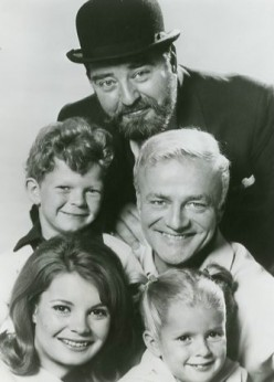 Uncle Bill and the gang from Family Affair