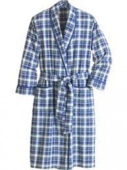 The Blue Plaid Robe in my head.