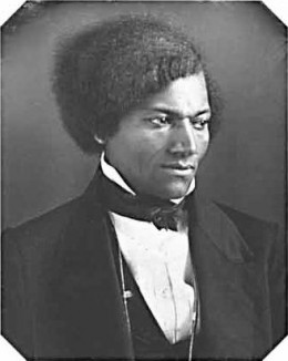 Frederick Douglass wrote his autobiography in the 1840's.