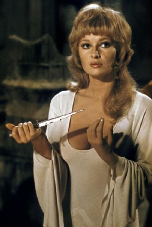Stephanie Beacham (1972's Dracula A.D. 1972)