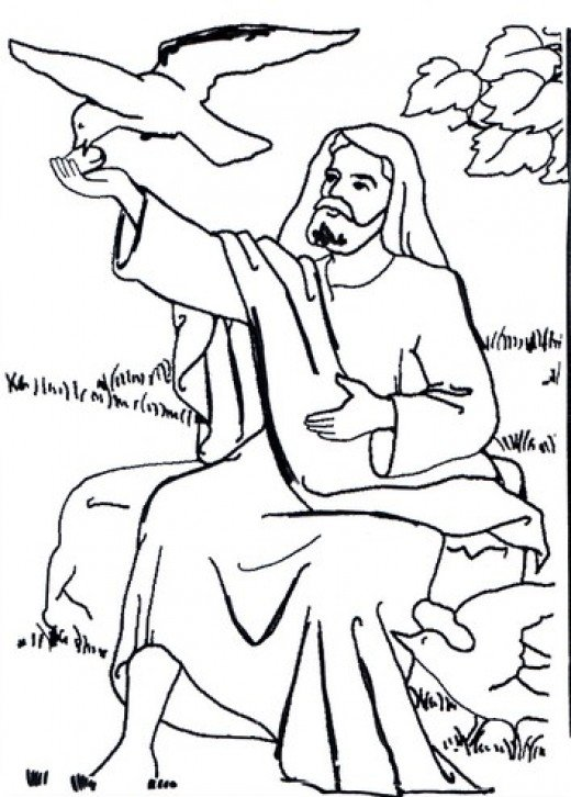 Bible Colouring Pages For Kids The Old Testament