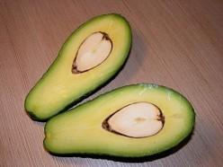 Avocado (halved)