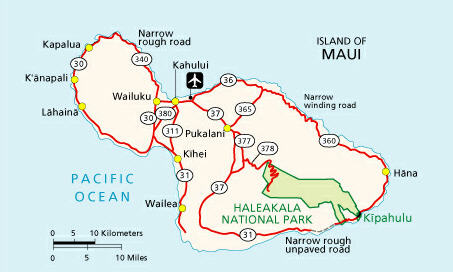 Take 378 to high start or Hana Hwy to lower start point.