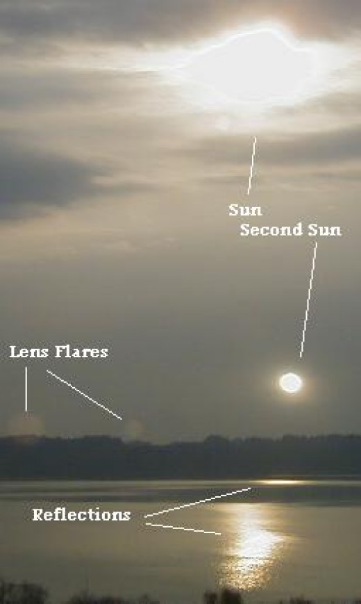 Here is a clear photo of Nibiru showing the Sun well above it in the sky.