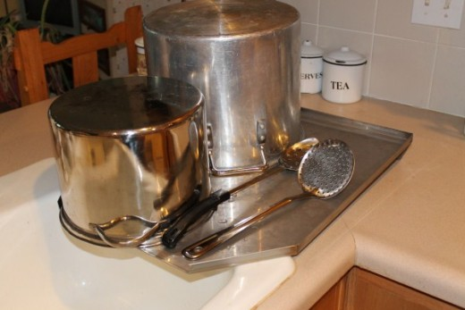 Stainless Steel products for the kitchen