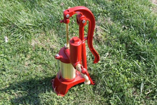Heller-Aller hand water well pumps