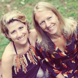 Elisa Van Arnum and Allison Blake