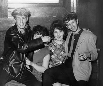 Rory and Ringo and fans