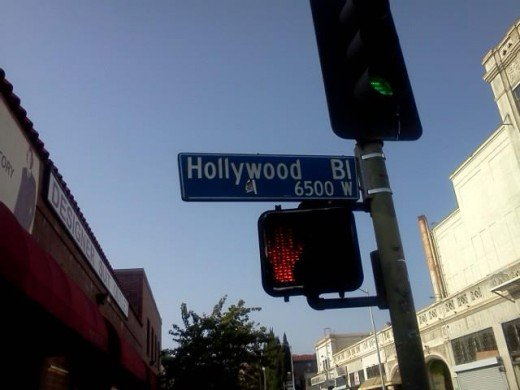 Hollywood Blvd--Courtesy of Mark A Santos