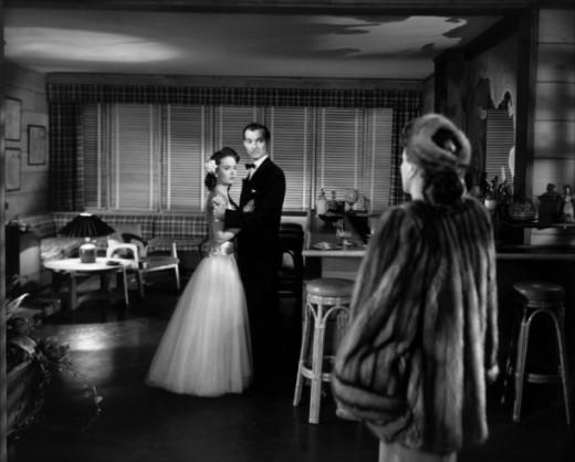 Ann Blyth, Zachary Scott and Joan Crawford