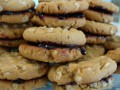 Oatmeal Peanut Butter and Jelly Sandwich Cookies:  Cooking With Kids