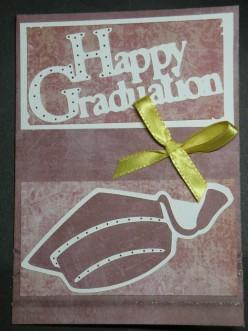 How to make a Homemade Happy Graduation Card