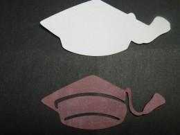 Graduation Cap Cutouts