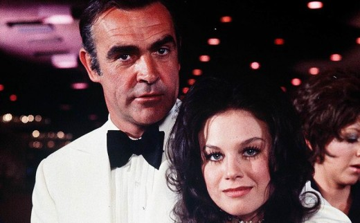 Sean Connery and Lana Wood